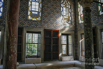 Inside The Harem Of The Topkapi Palace Poster by Patricia Hofmeester