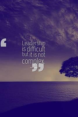 Inspirational Quotes - Motivational , Leadership - 43  Michael Mckinney Poster