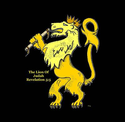 Inspirational - The Lion Of Judah Poster