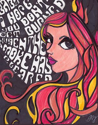 Althea Poster by Jennifer  Love-Gironda