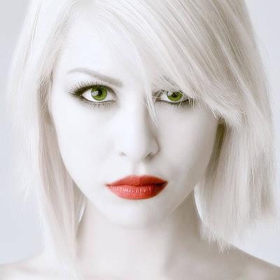 Intense Beauty Poster by Michael Scorsur