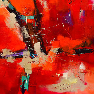 Intensity - Art By Elise Palmigiani Poster by Elise Palmigiani
