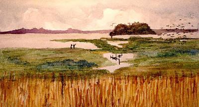 Intercoastal Waterway Poster by Jim Phillips