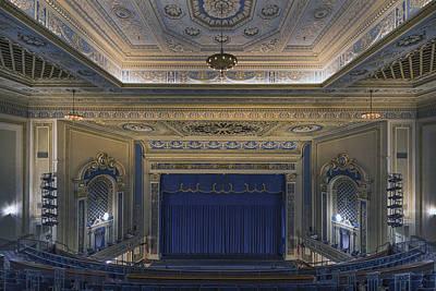Interior Of The Perot Theatre In Texarkana Poster