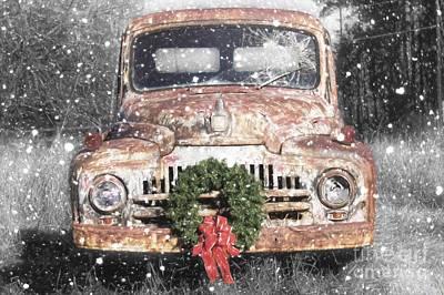 International Christmas Snow Poster