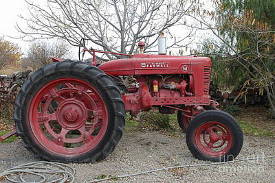 International Harvester Mccormick Farmall Farm Tractor . 7d10320 Poster by Wingsdomain Art and Photography