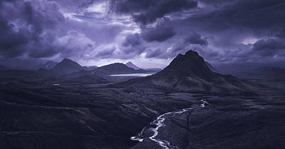 Into The Highlands Poster by Tor-Ivar Naess