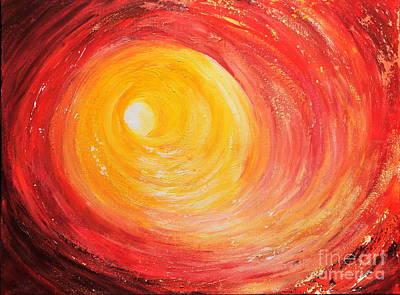 Into The Light Poster by Teresa Wegrzyn