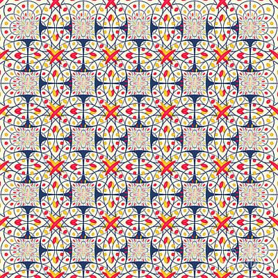 Intricate Pattern Poster
