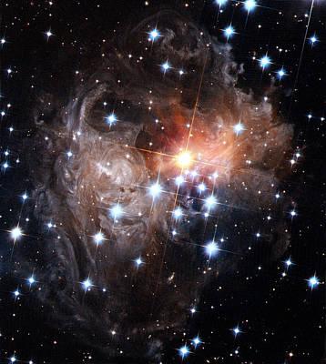 Intricate Structures In Interstellar Poster