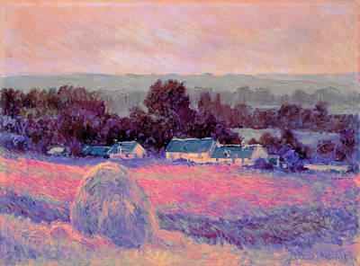 Inv Blend 10 Monet Poster by David Bridburg