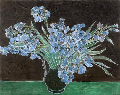 Inv Blend 11 Van Gogh Poster by David Bridburg