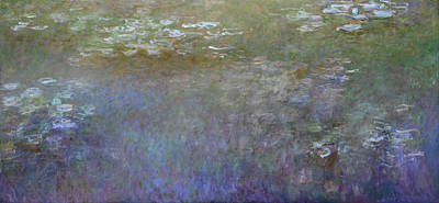 Inv Blend 7 Monet Poster by David Bridburg