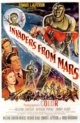 Invaders From Mars, Jimmy Hunt, Arthur Poster by Everett