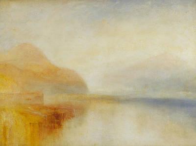 Inverary Pier Loch Fyne Morning Poster by Joseph Mallord William Turner