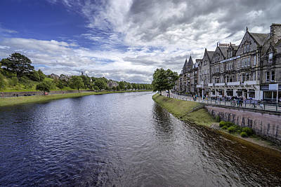 Poster featuring the photograph Inverness by Jeremy Lavender Photography