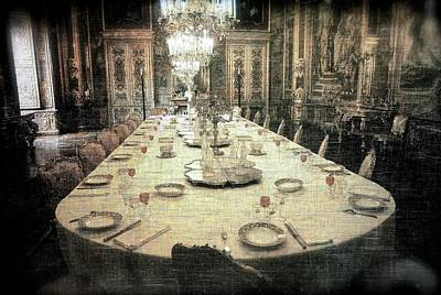 Invitation To Dinner At The Castle... Poster