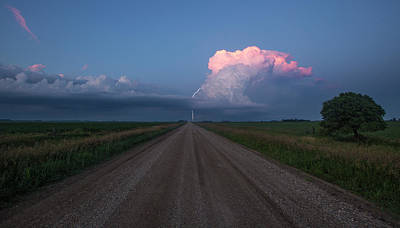 Iowa Supercell Poster by Aaron J Groen