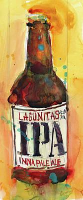 Ipa Lagunitas Beer Art Poster