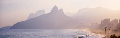 Ipanema Beach Rio De Janeiro Brazil Poster