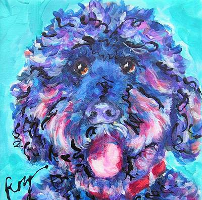 Irie Labradoodle Poster