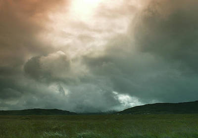 Poster featuring the photograph Irish Atmospherics. by Terence Davis