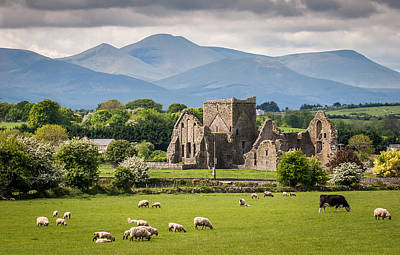 Irish Country Side Poster by Pierre Leclerc Photography
