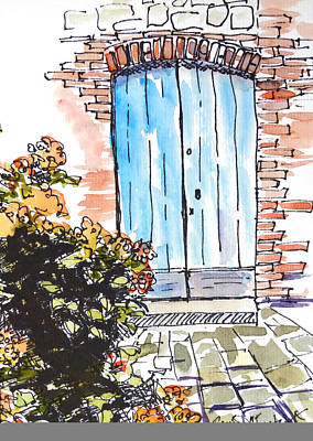 Irish Door Poster by Renee Chastant