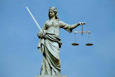 Irish Justice Poster by Joe Burns