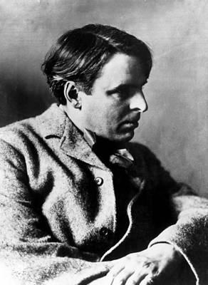 Irish Poet William Butler Yeats Poster by Everett