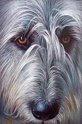 Irish Wolfhound Poster