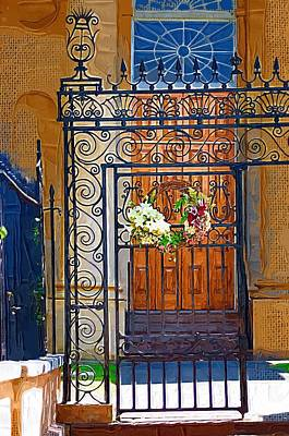 Poster featuring the photograph Iron Gate by Donna Bentley