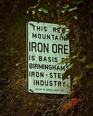 Iron Ore Seam Poster