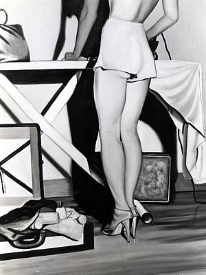 Ironing-board Lady Poster