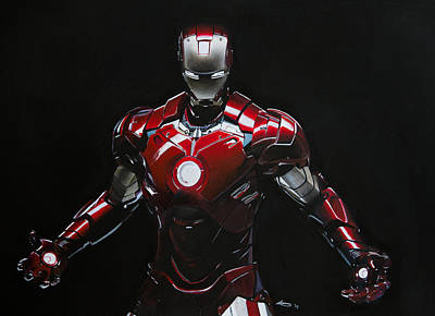 Ironman Poster by Robert Bateman