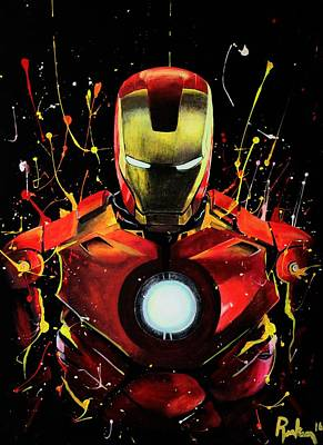Ironman Unleashed Poster by Kelly Renken