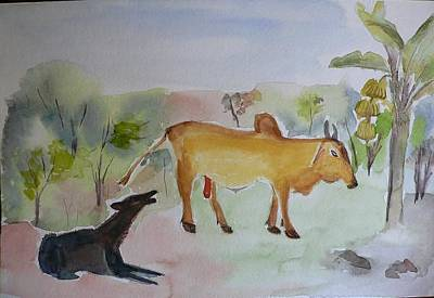 Poster featuring the painting Irresistible  by Geeta Biswas
