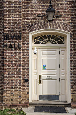 Irvin Hall Penn State  Poster by John McGraw