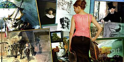 Isabella Stewart Gardner, Art Theft Gallery Poster
