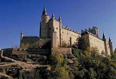 Isabella's Castle In Segovia Poster