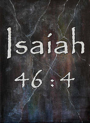 Isaiah Verse Poster by William Walts