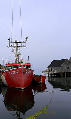 Fishing Boat, Peggy's Cove Poster by Imagery-at- Work