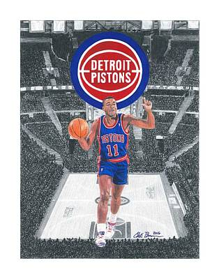 Isiah Thomas Poster by Chris Brown