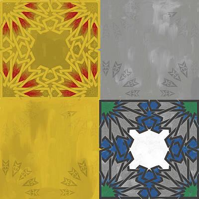 Islamic Motif Iv 443 1 Poster by Mawra Tahreem