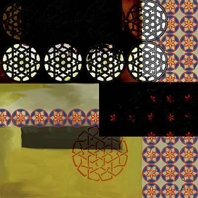 Islamic Motif Vii 446  2 Poster by Mawra Tahreem