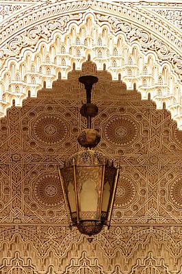 Islamic Plasterwork Poster by Ralph A  Ledergerber-Photography
