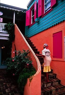Island Color. British Virgin Islands Poster