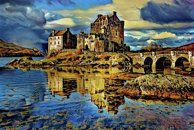 Island Of Donnan - Scotland Poster by Russ Harris