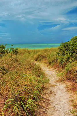 Island Path Poster by Swank Photography