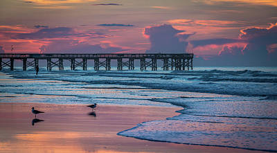 Isle Of Palms Morning Poster